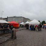 マーケット広場でサーモンスープを食べる フィンランド旅行記vol.26