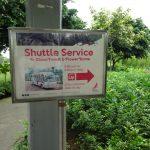女ひとりでどこまで出来るか ゆる~くのんびりSFC修行⑪ ガーデンズ・バイ・ザ・ベイの2種類のバスサービス【動画あり】
