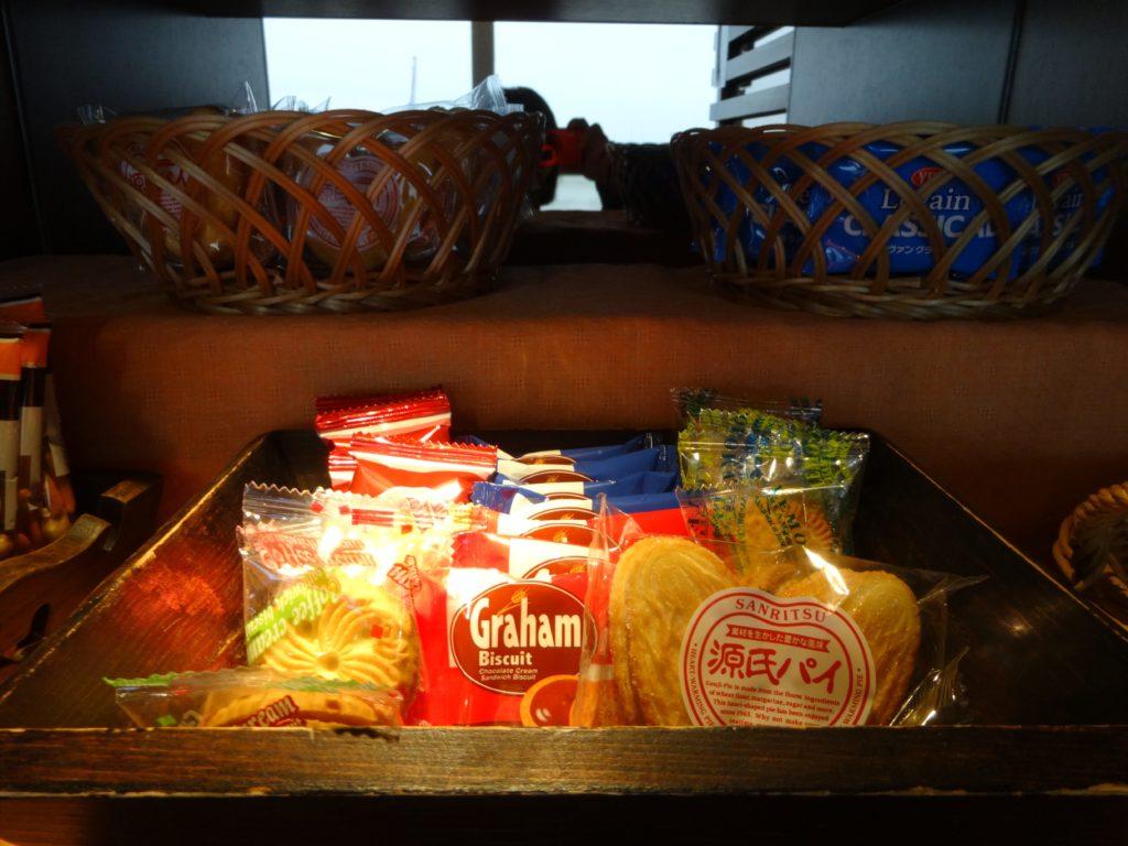 タイ国際航空ラウンジお菓子