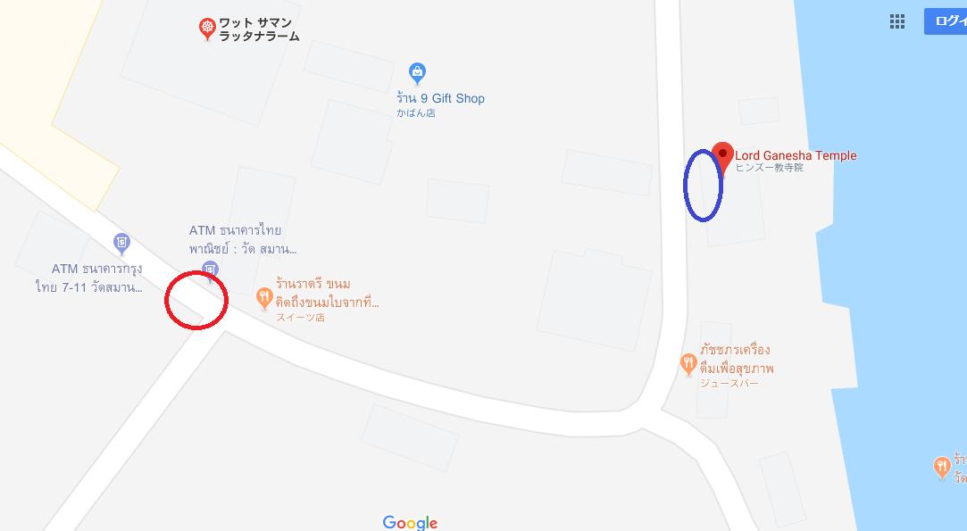 ソンテオの停車する場所