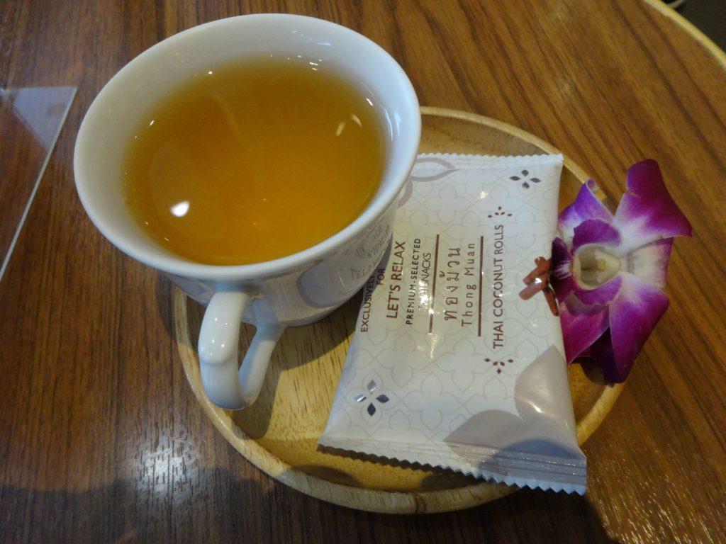お茶とおやつのサービス